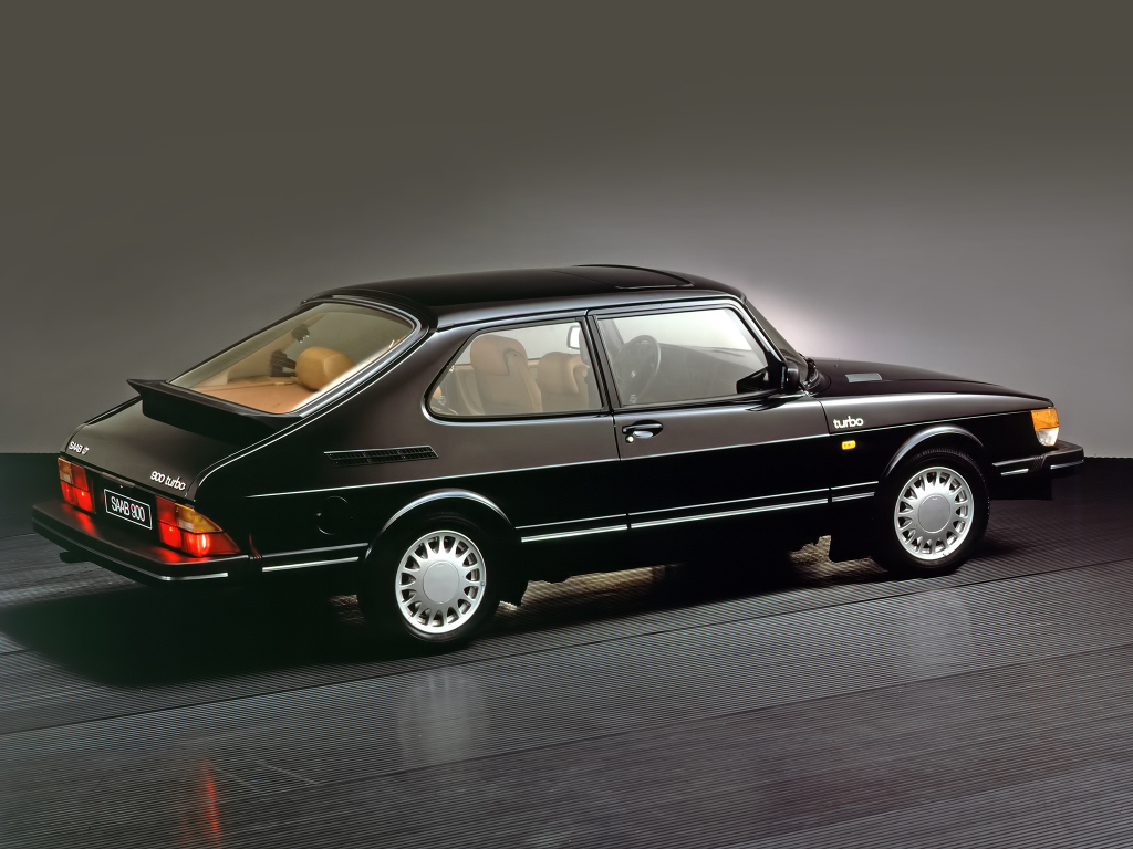 Saab 900 Turbo från 1980