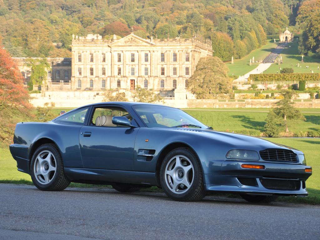 Aston Martin V8 Vantage var superbilsderivatet på den ganska beskedliga Virage. Här en V600 med 600 hk!