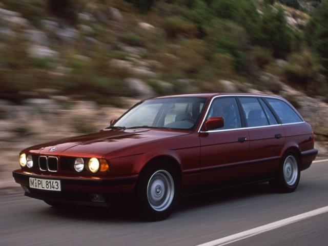 BMW 5-serie Touring, den första femman att erbjudas i kombi-utförande.