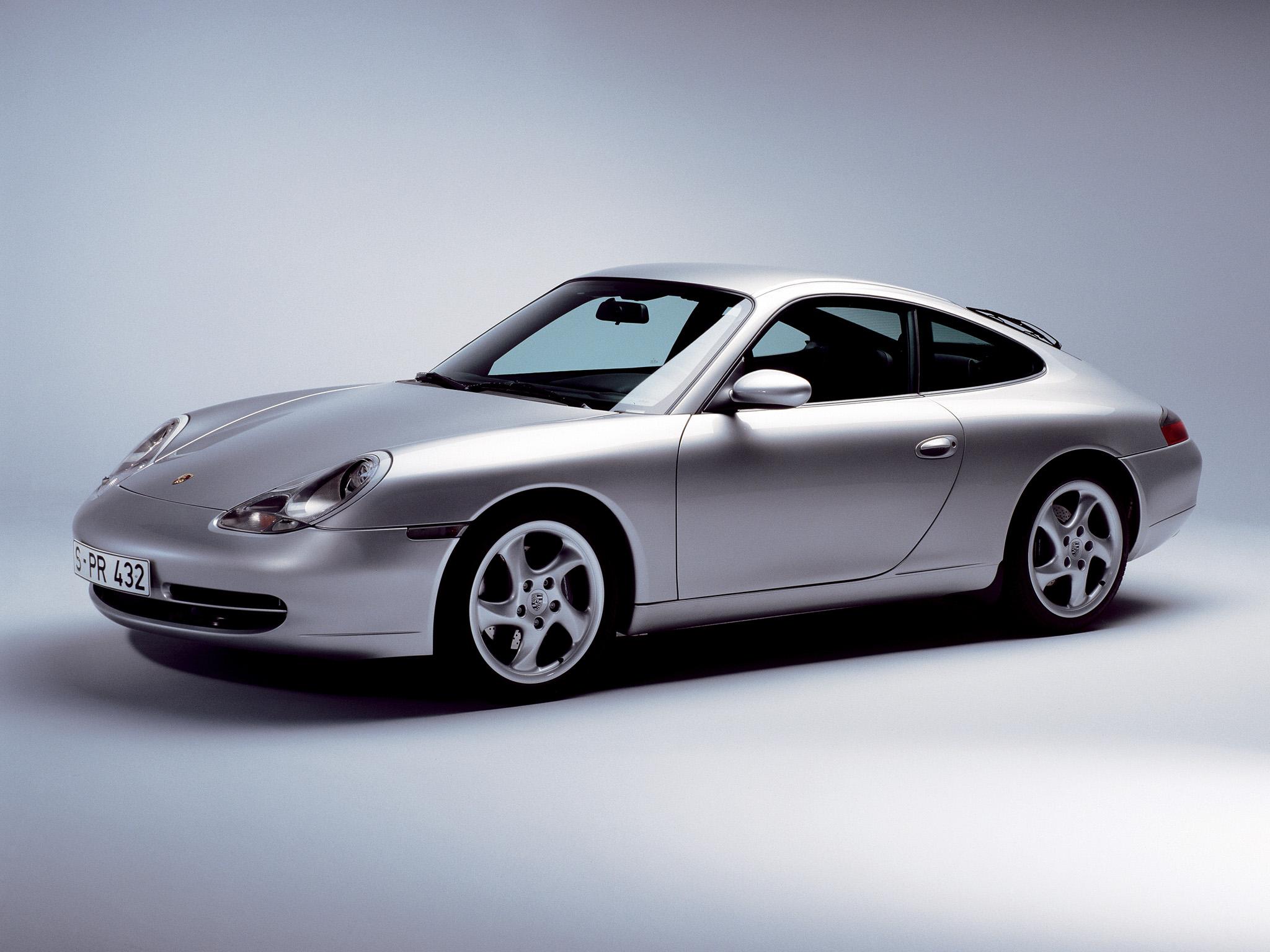 Porsche 996, den första helt nya 911:an sedan 1964! Kom 1998 och var en helt modern sportbil.