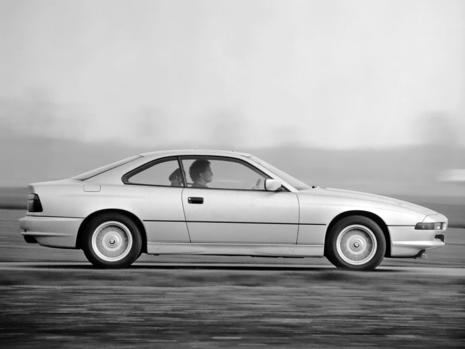 BMW 850i.-