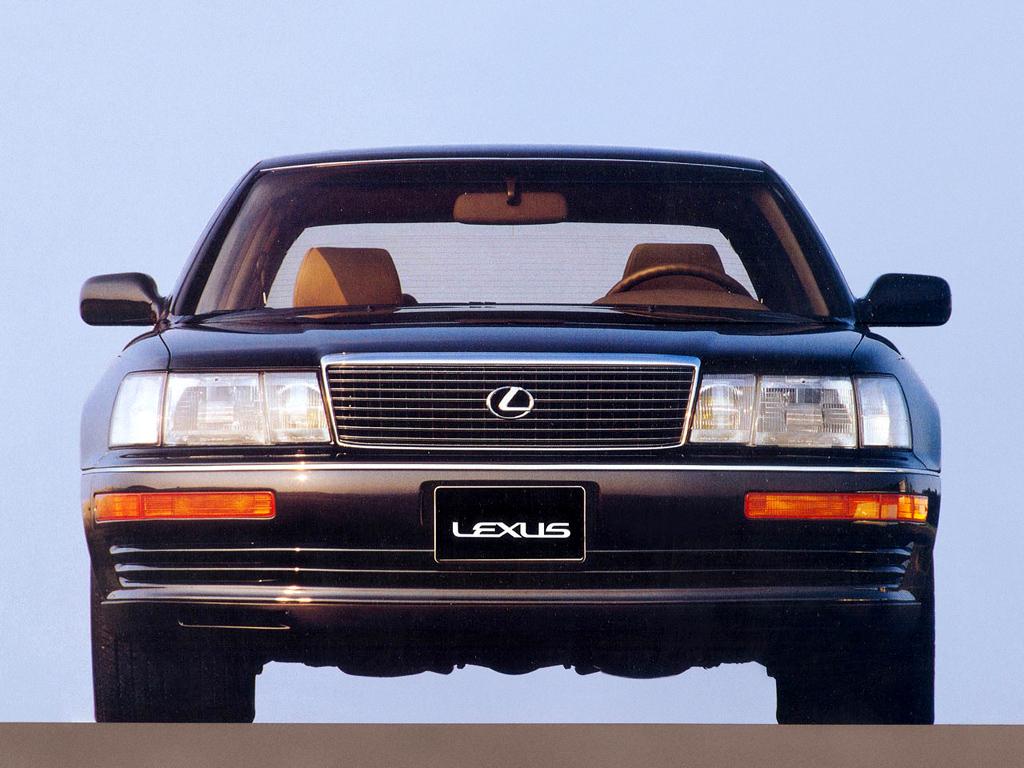 Lexus LS400.