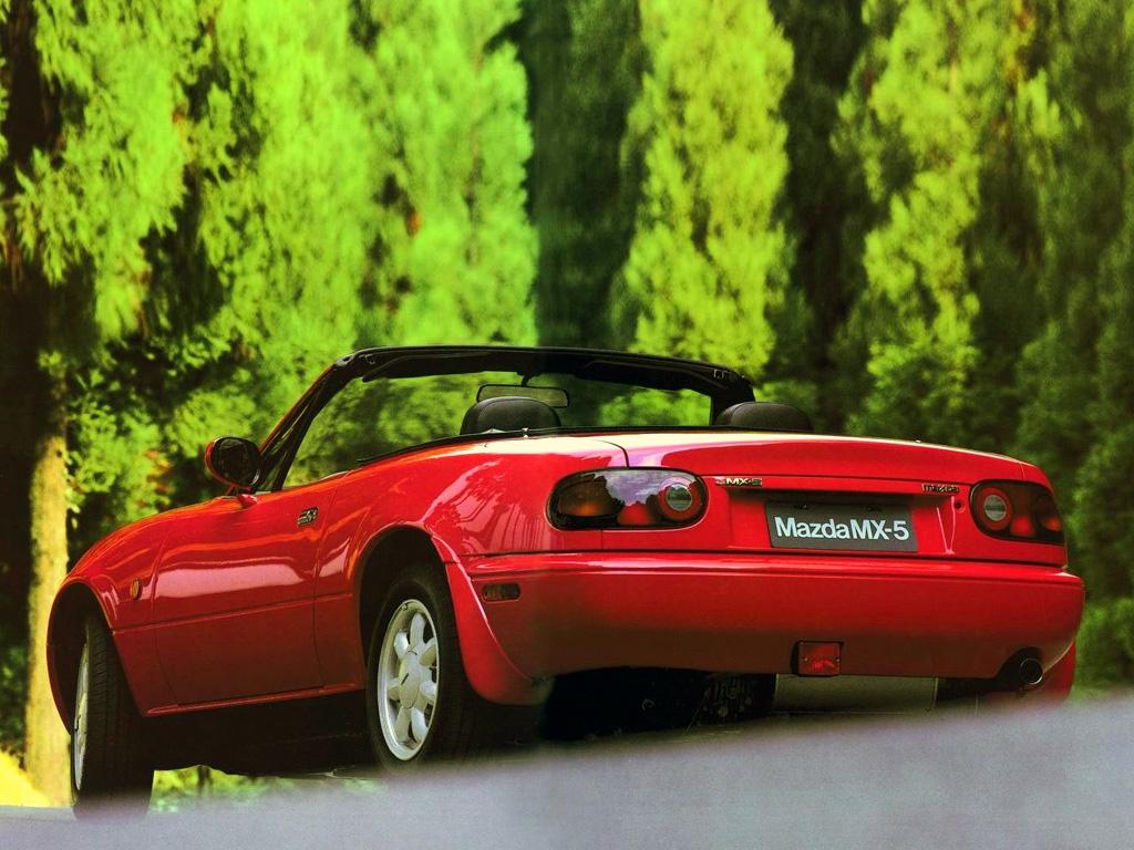 Mazda Miata 1989-93.