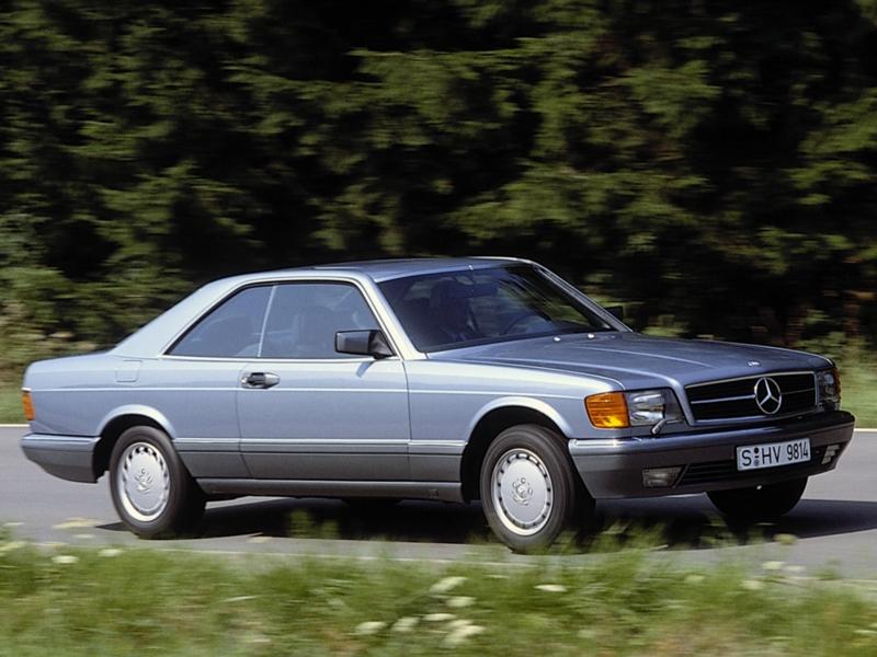 Mercedes C126 560 SEC