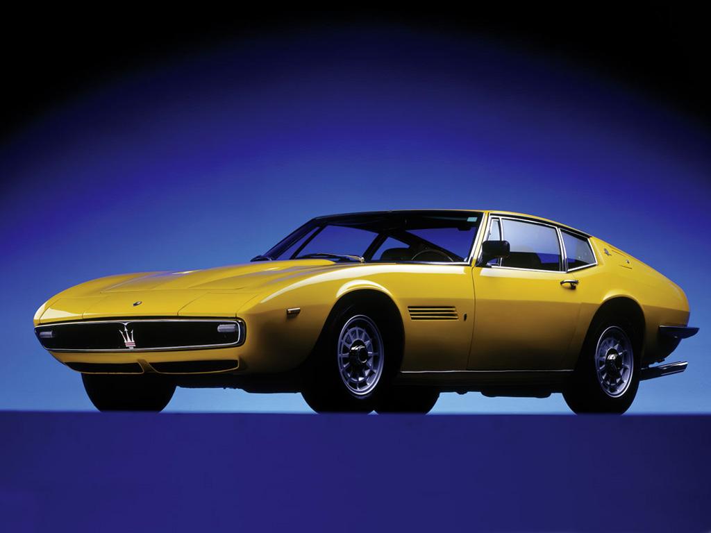 Maserati Ghibli, 1966-73