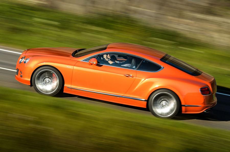 Bentley Continental GT Speed, toppmodellen i Continental-programmet i sin senaste skepnad. Bjuder nu på 630 hk.