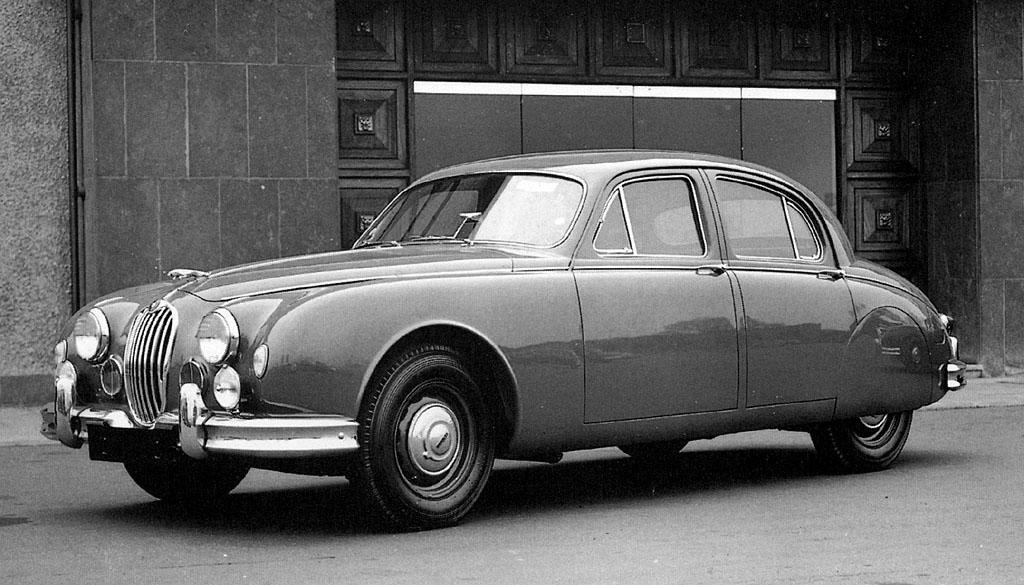 Jaguar 2.4 Litre från 1955, även kallad Mark I.