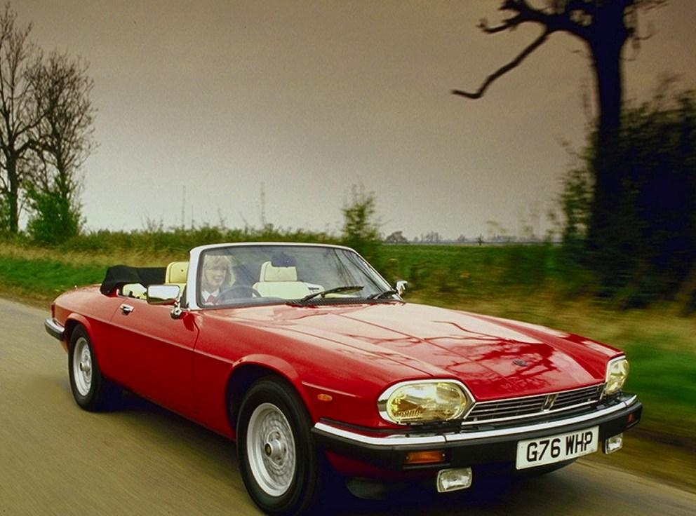 Jaguar XJ-S Convertible kom 1988 och ersatte den knepiga Cabriolet med targa-tak.