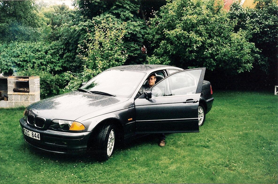 Pappas saknade 320i från 1999. Vilken kultiverad och körglad vagn!