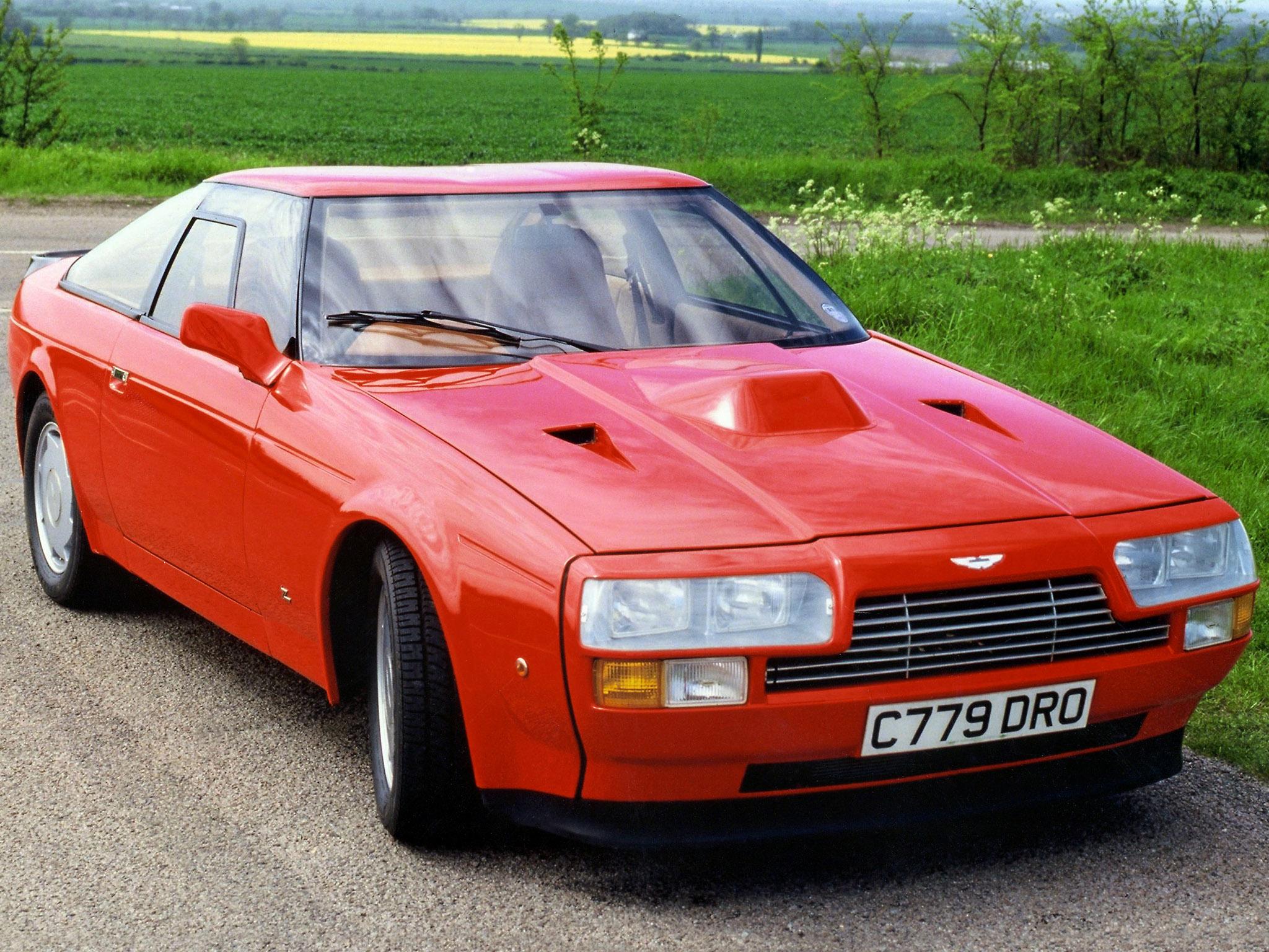 Aston Martin V8 Vantage Zagato från 1986.