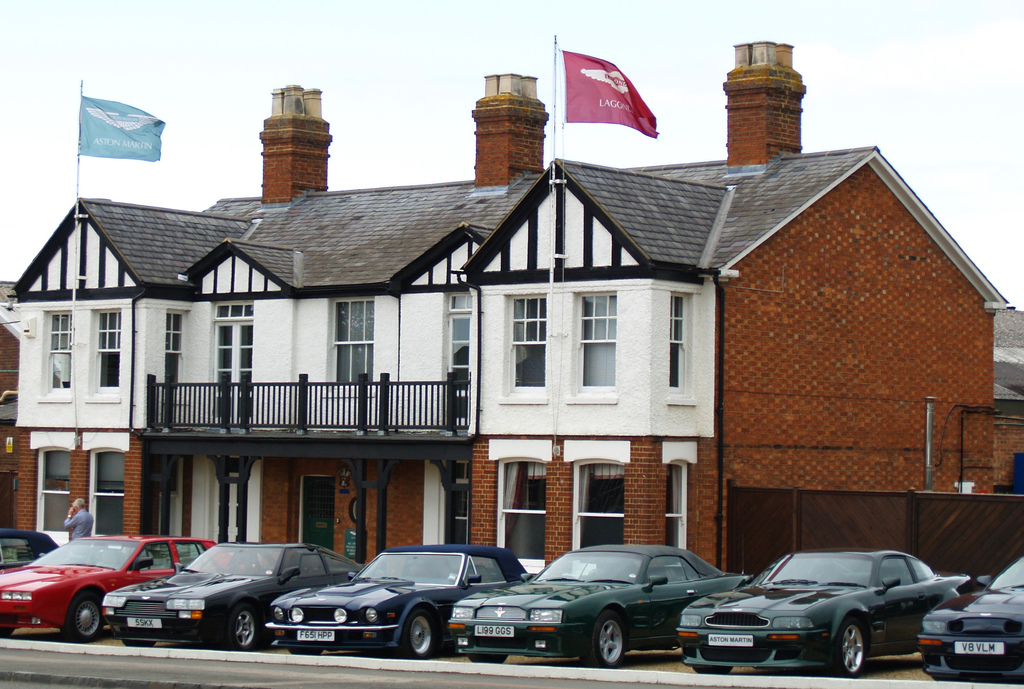 Tickford Street, Newport Pagnell (2007), Old Aston reception