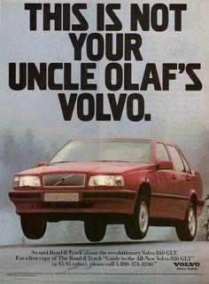 Den nyvunna sportigheten basunerades ut i reklamen genom en del humor.