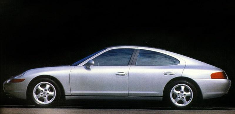Porsche Panriche, som den skulle kunna se ut.