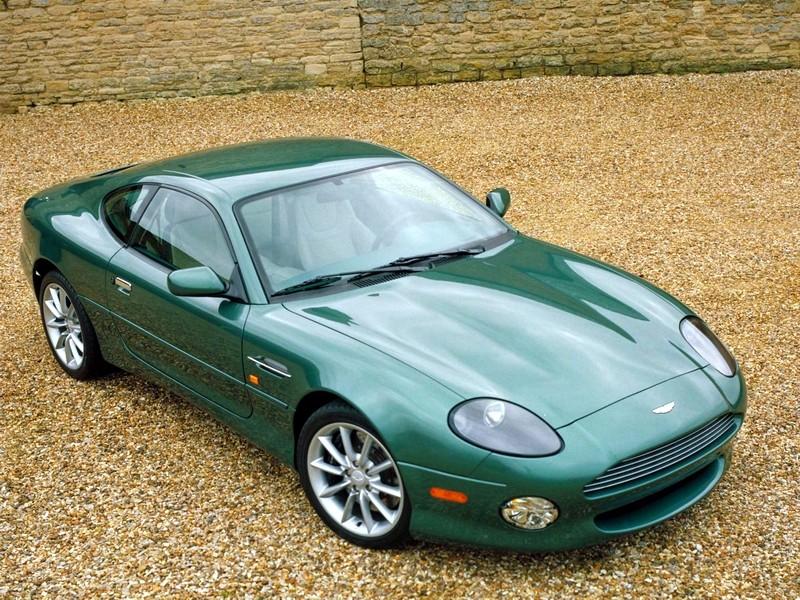 Aston Martin DB7 Vantage med sexliters tolva.