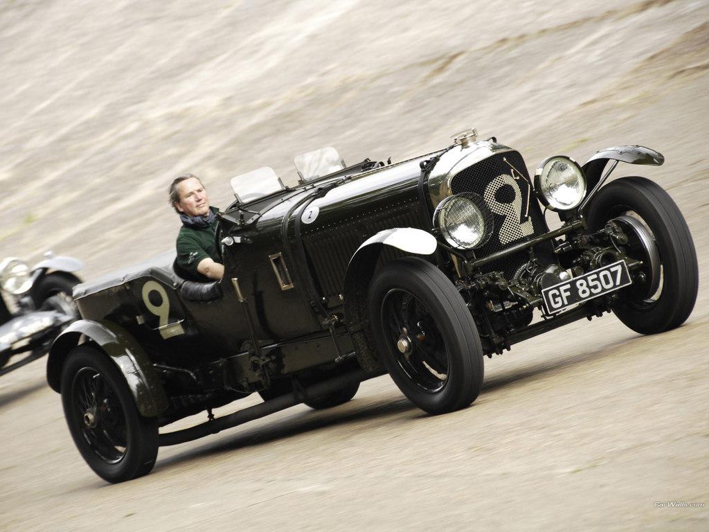Bentley Speed 6 från 1930.