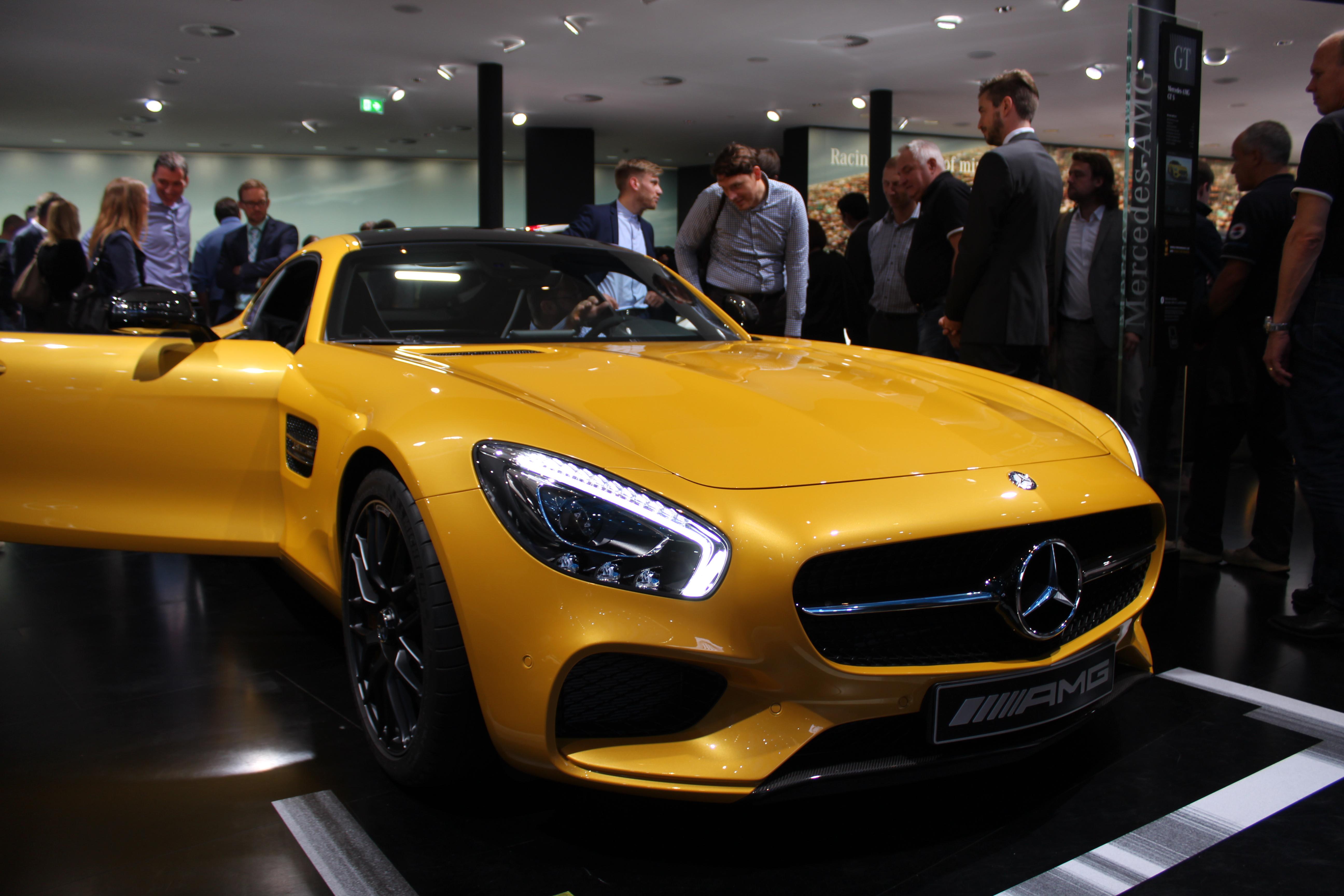 Svårt läckra sportvagnen AMG GT skänker skopor av glamour åt märkets modellpalett.