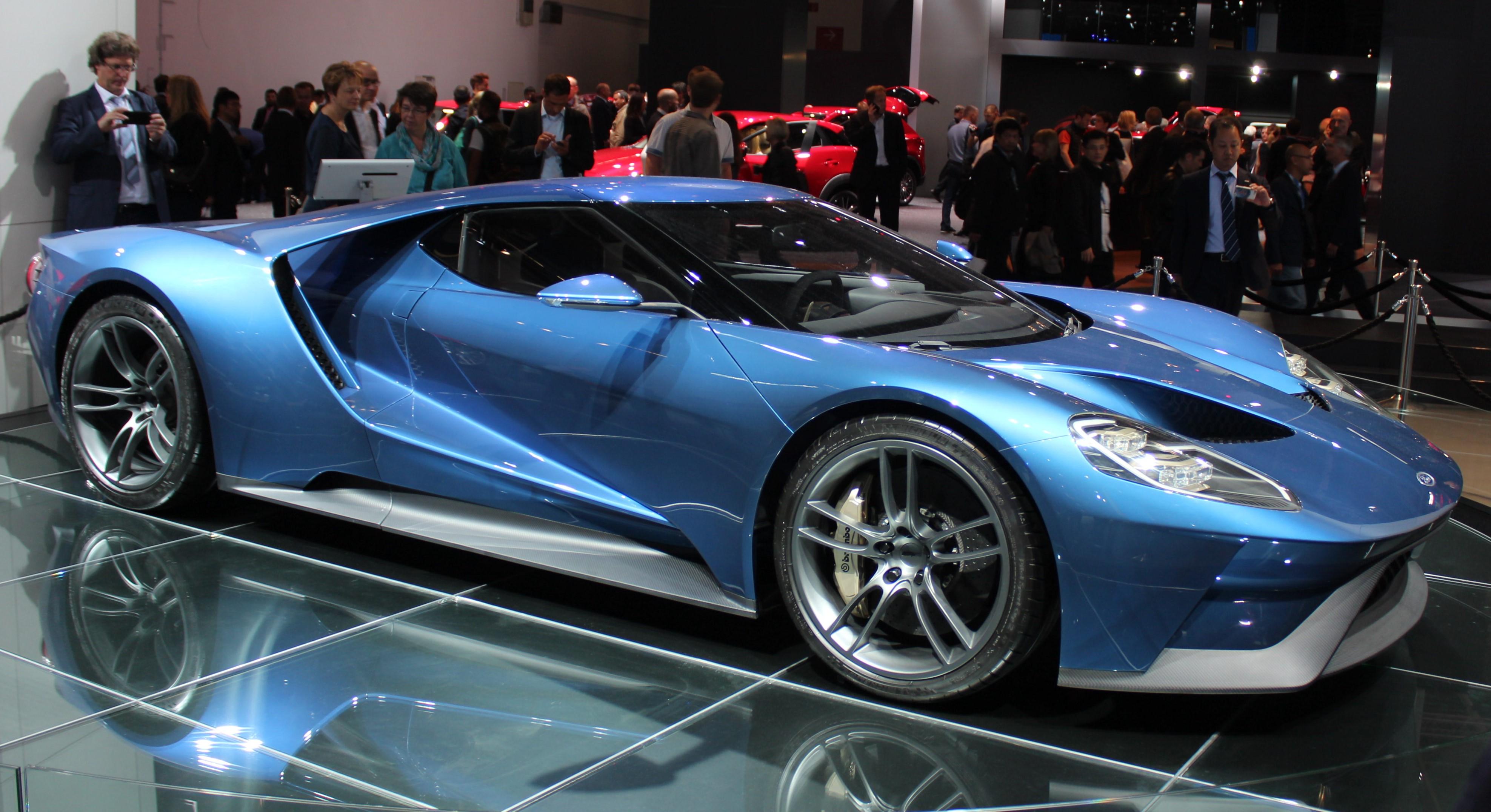 Ford GT, nya supersportvagnen från folkmärket ska tävla mot de finaste.