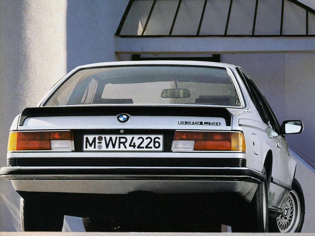 Ett begrepp bland BMW-entusiaster - 635 CSi. Tillkom 1983 i och med en kraftig uppdatering.