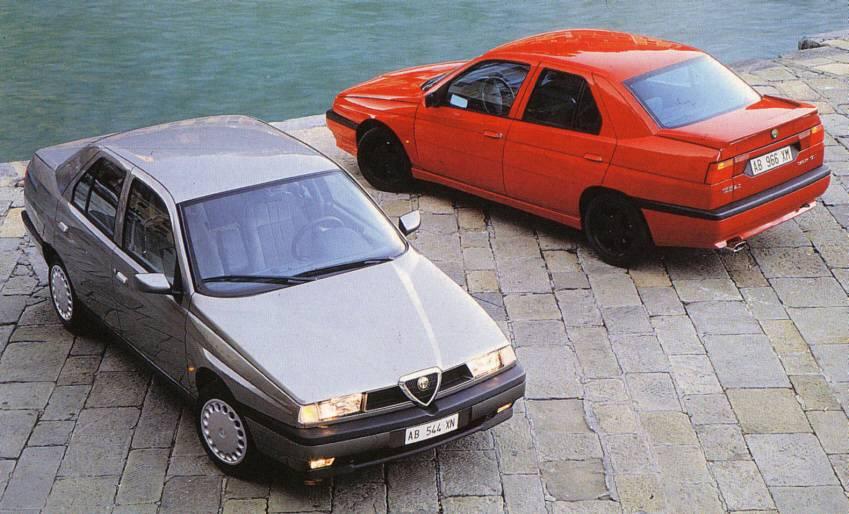 Alfa 155 1.7 TS & Alfa 155 2.0 TS 16v S (1996)