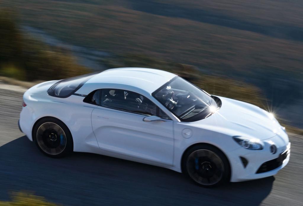 Alpine Vision Concept - senast i raden av Alpine-koncept från Renault. Kommer att utmynna i en produktionsbil innan årets slut.