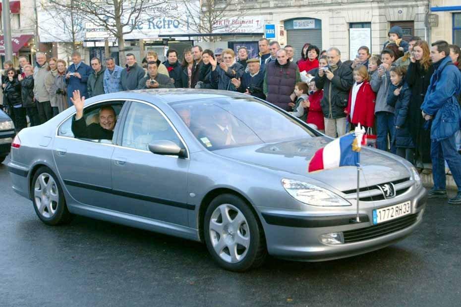 Chirac Peugeot 607