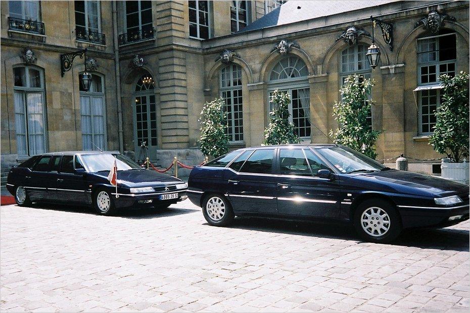 Citroen XM Élyséepalatset
