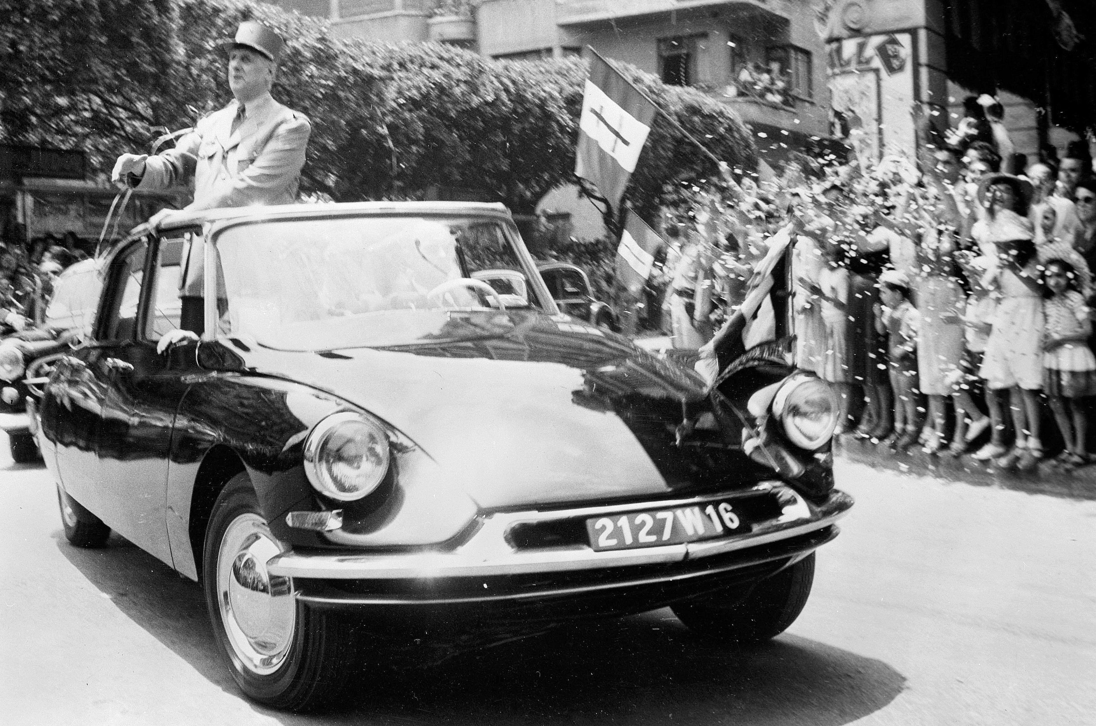 De Gaulle Citroen DS
