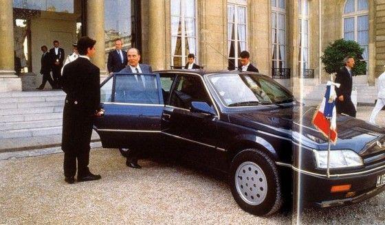 Mitterrand Renault 25