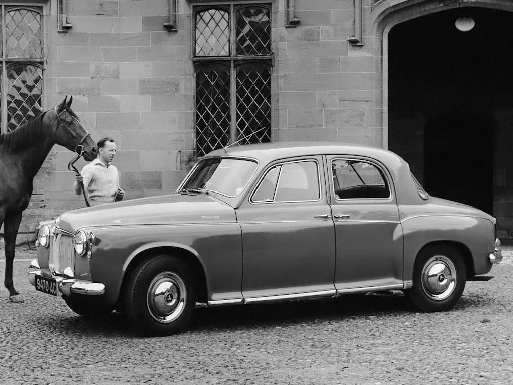 Rover P4 kom 1949. Lyx och elegans för vanligt folk!