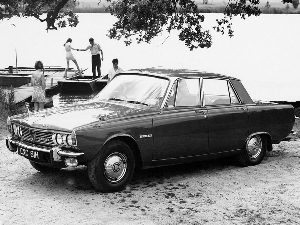 Rover P6 från 1963.